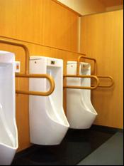男子用トイレの様子