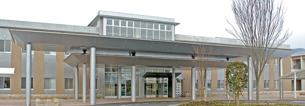 広島市立リハビリテーション病院 外観写真