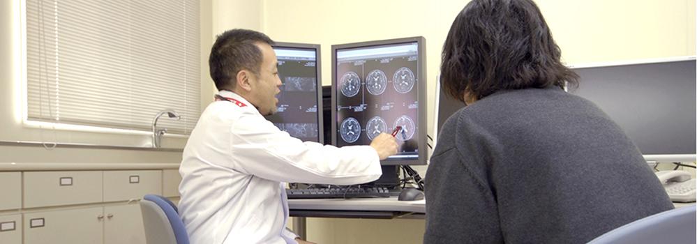 広島市立リハビリテーション病院 診察写真