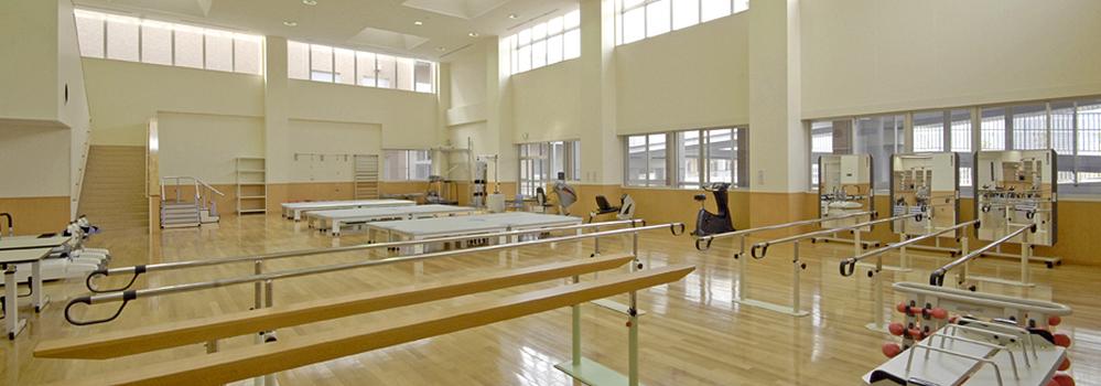 広島市立リハビリテーション病院 療法室写真