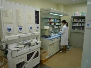 薬剤部門の写真