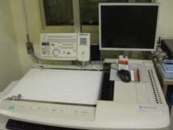 脳波計検査装置の写真