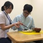 1.作業療法での箸練習